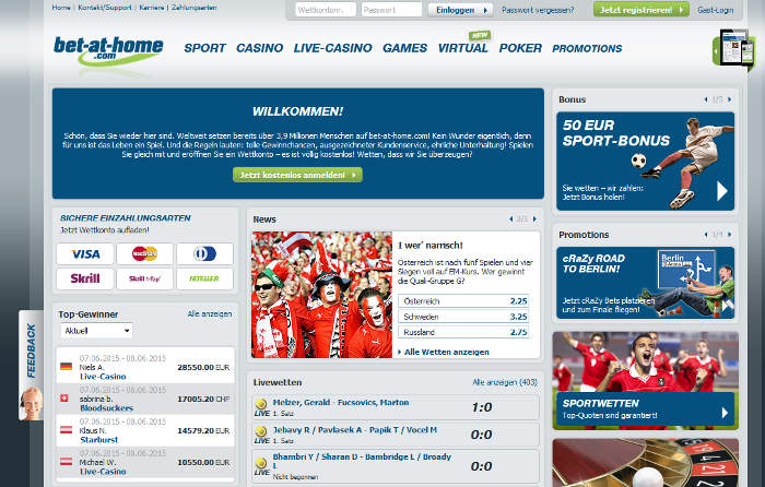 bet at home casino download