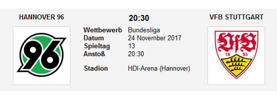 Hannover Stuttgart Tipp