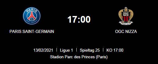 Wett Tipp PSG OGC Nice 13 02 20