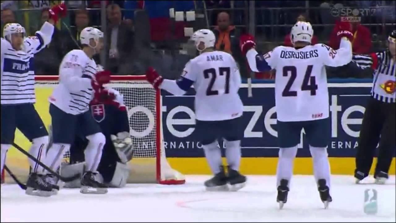 Video: Slowakei – Frankreich (3-5), Eishockey WM 2014
