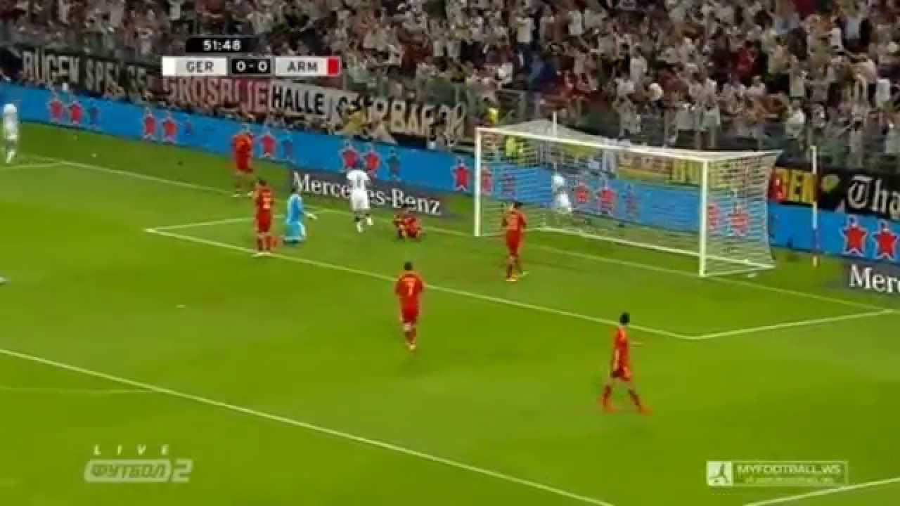 Video: Deutschland – Armenien (6-1), Testspiel