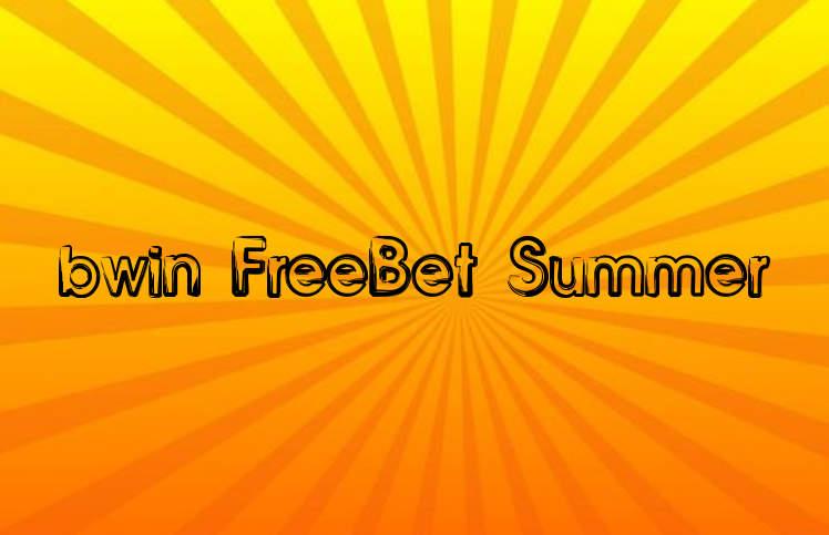 bwin Freebet Sommer 50