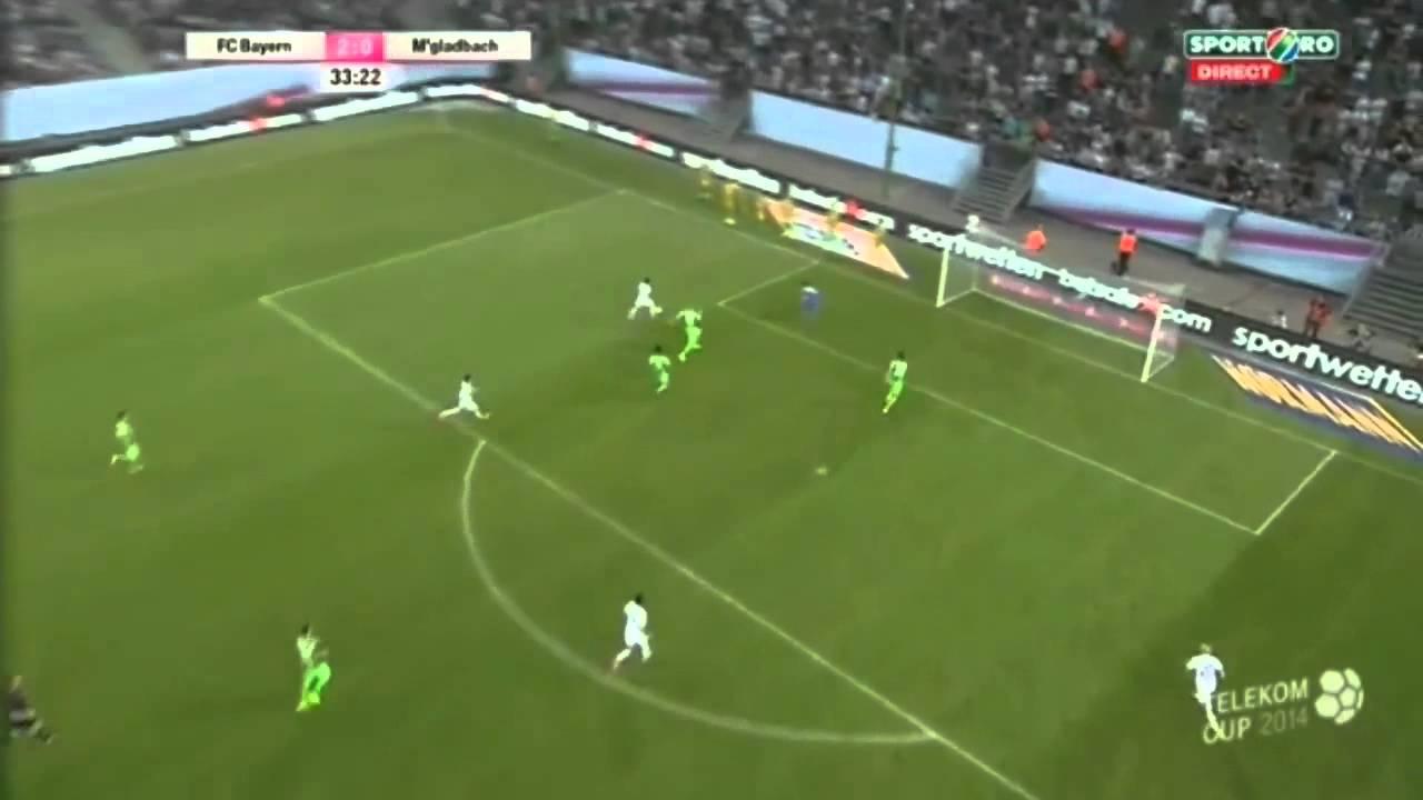 Video: Bayern München – Borussia Mönchengladbach (2-1), Telekom Cup 2014