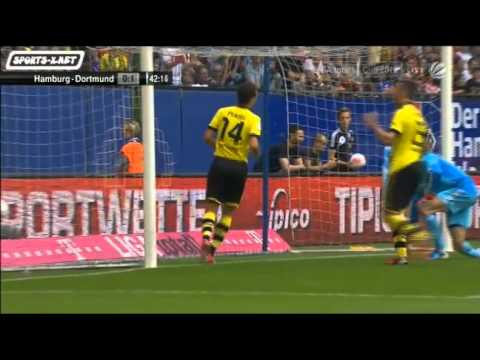 Video: Hamburger SV – Borussia Dortmund (0-1), Liga total Cup