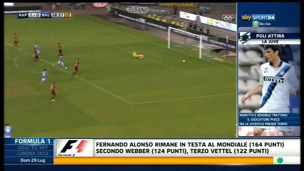 Video: SSC Neapel – Bayer Leverkusen (2-1), Testspiel
