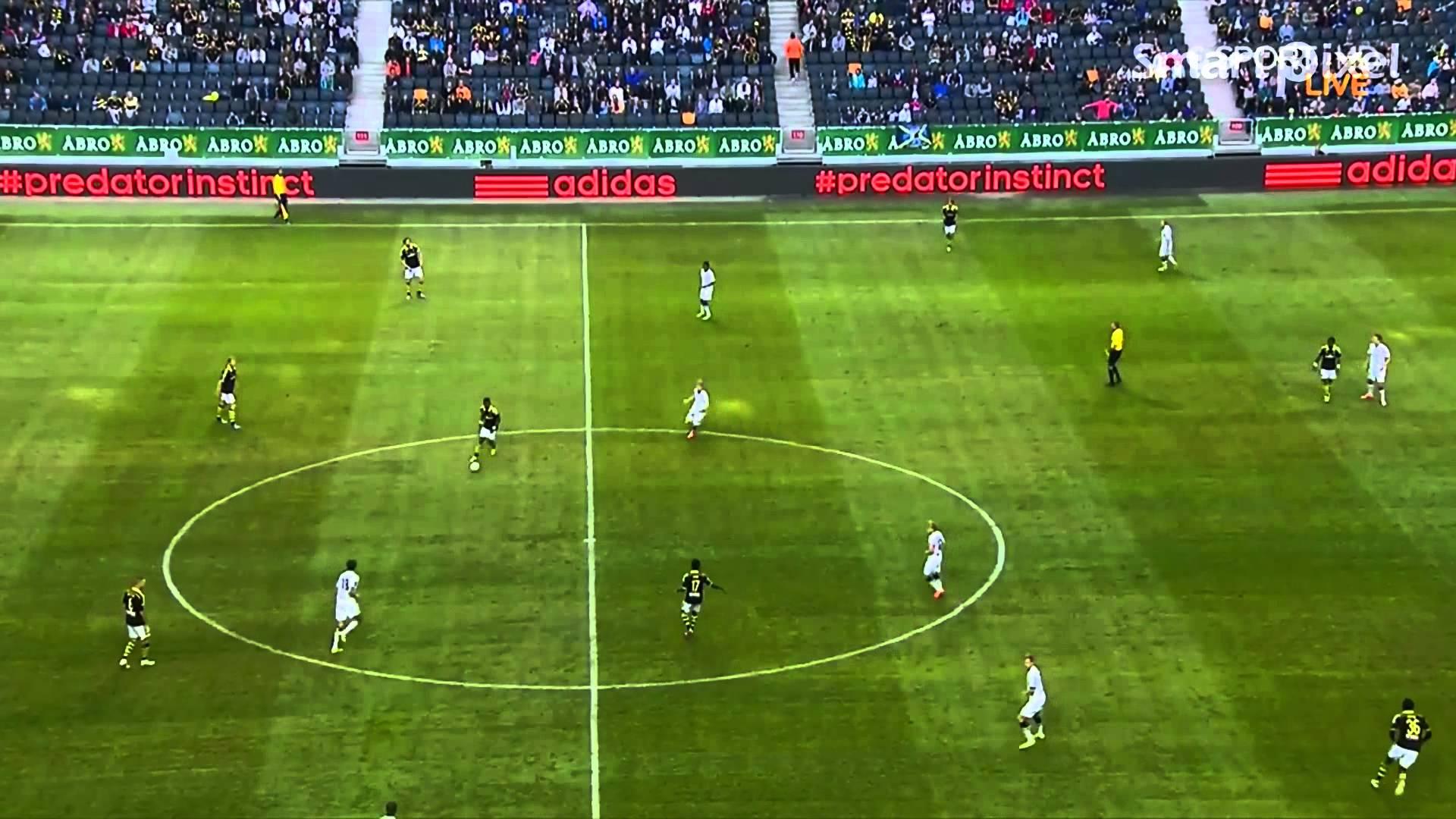 Video: AIK Solna – BK Häcken (1-0), Allsvenskan
