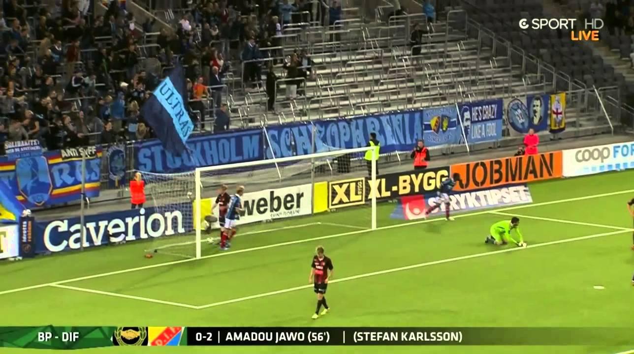 Video: Brommapojkarna – Djurgardens (0-4), Allsvenskan