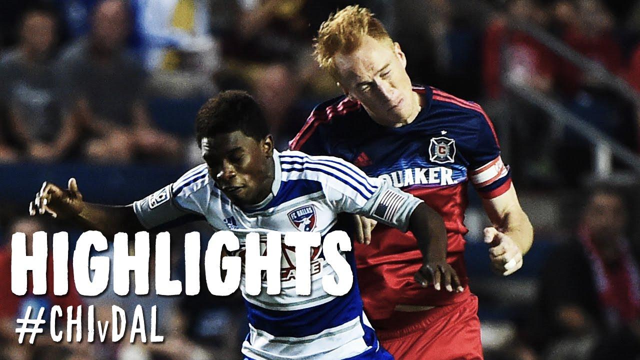 Video: Chicago Fire –  FC Dallas (1-0), MLS