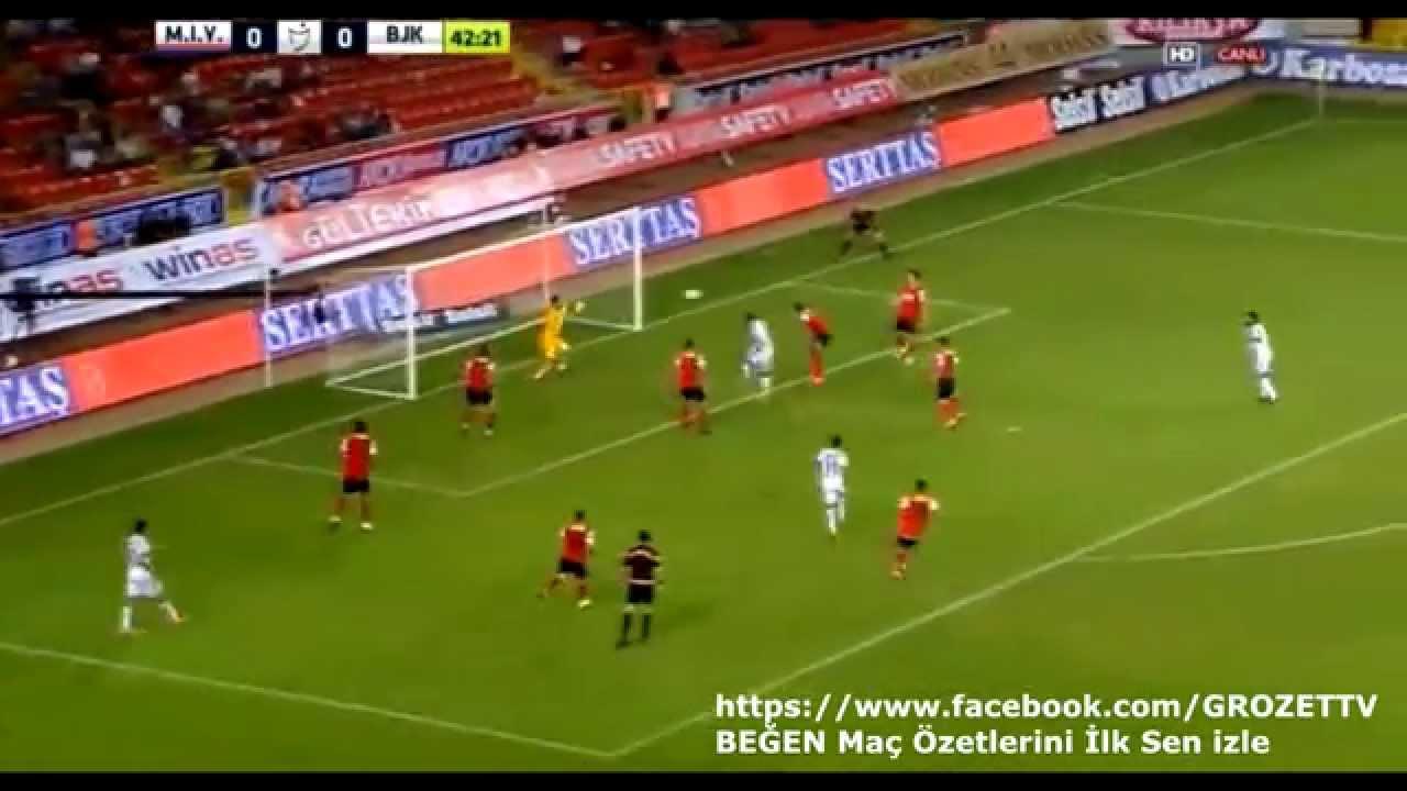 Video: Mersin – Besiktas (0-1), Süper Lig