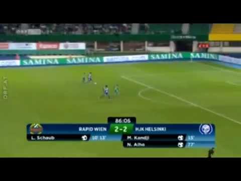 Video: Rapid Wien – HJK Helsinki (3-3), Europa League