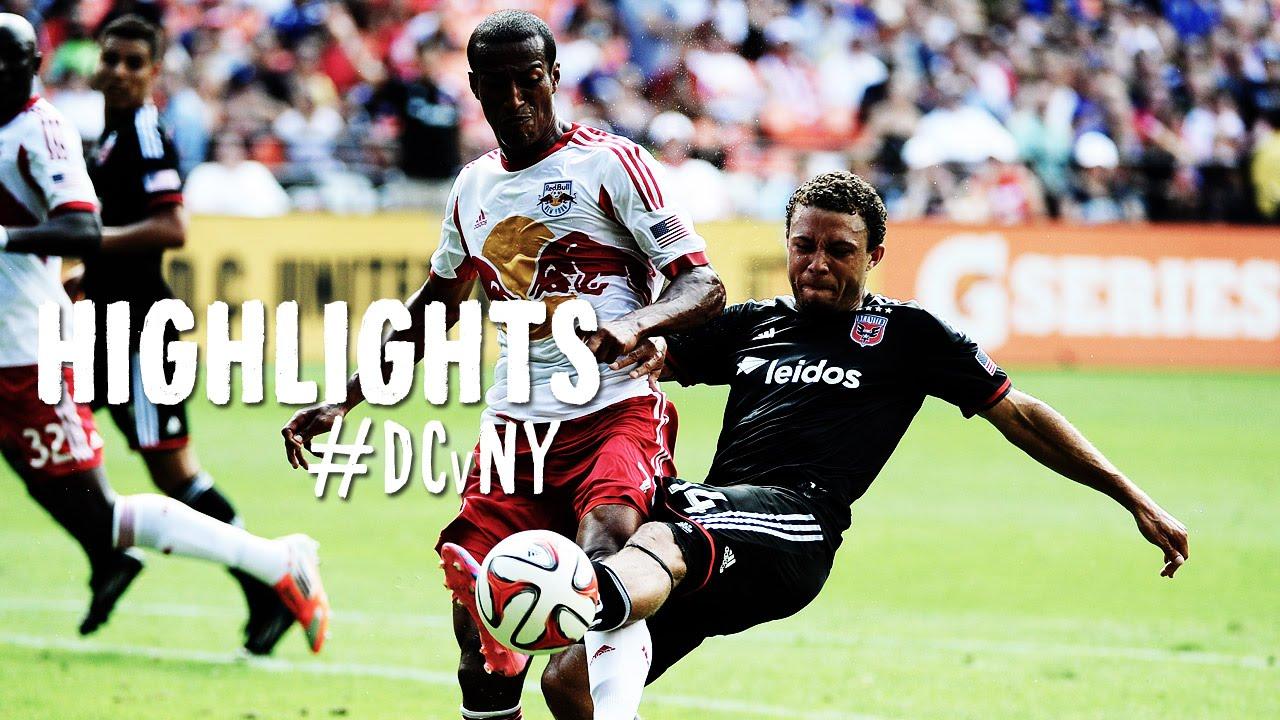 Video: Washington DC United –  New York Red Bulls (2-0), MLS