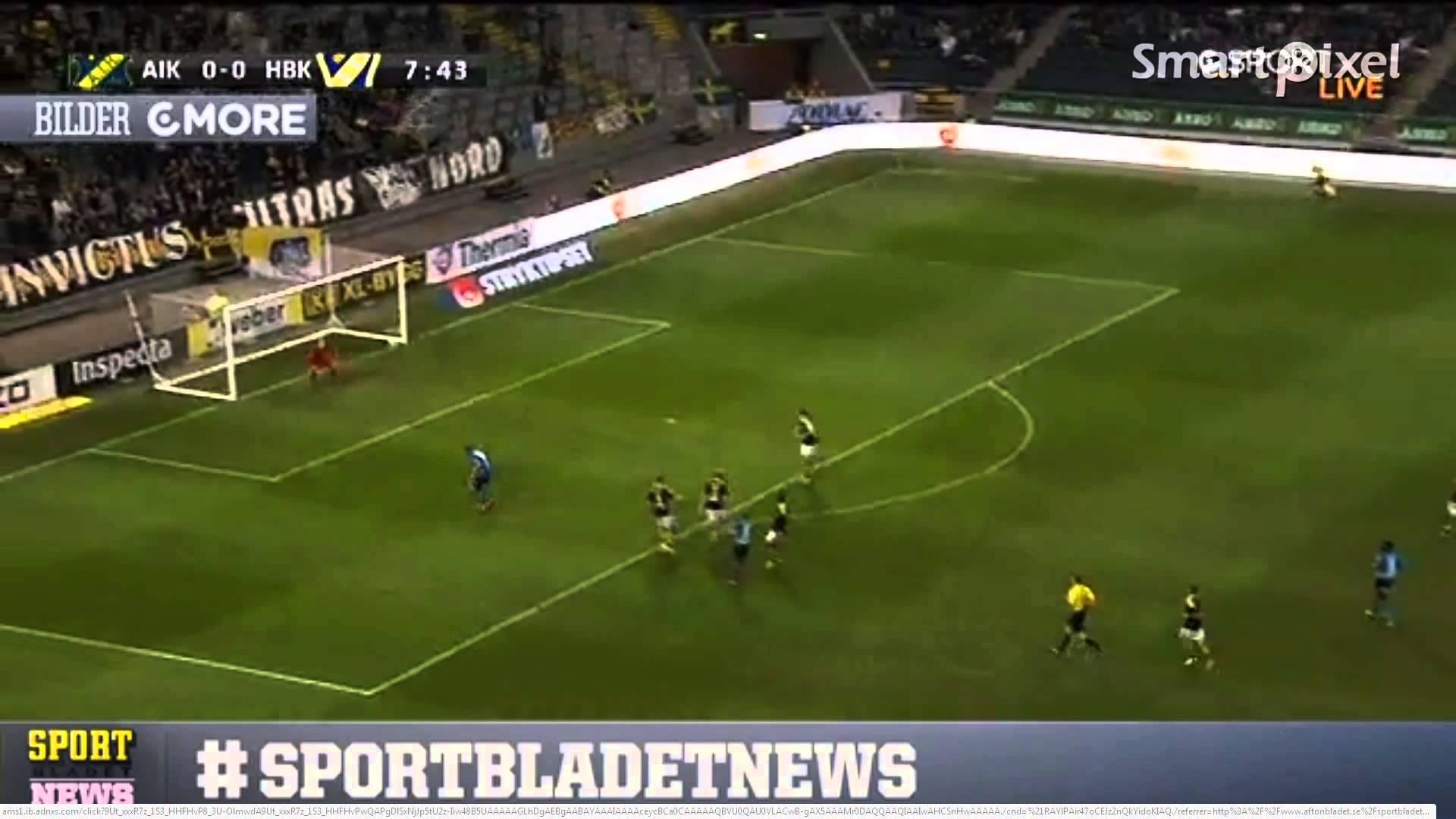Video: AIK Solna – Halmstads (0-1), Allsvenskan