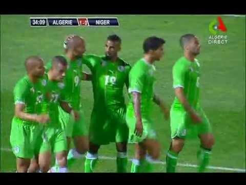 Video: Algerien – Niger (3-0), Testspiel