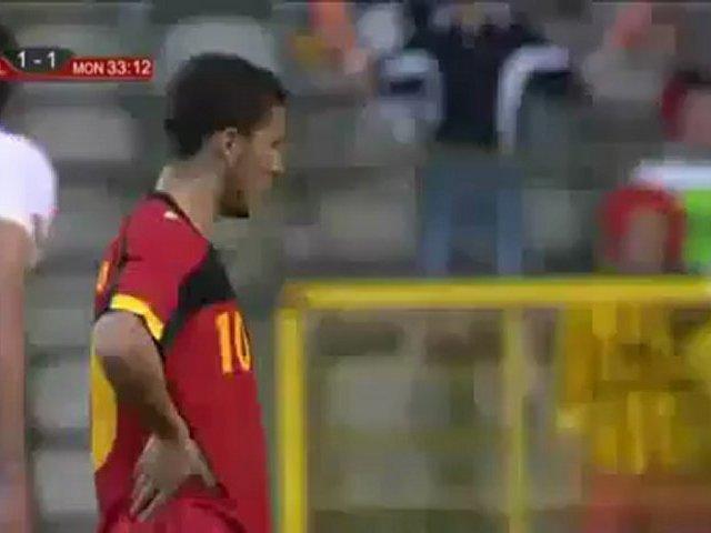Video: Belgien – Montenegro (2-2), Testspiel