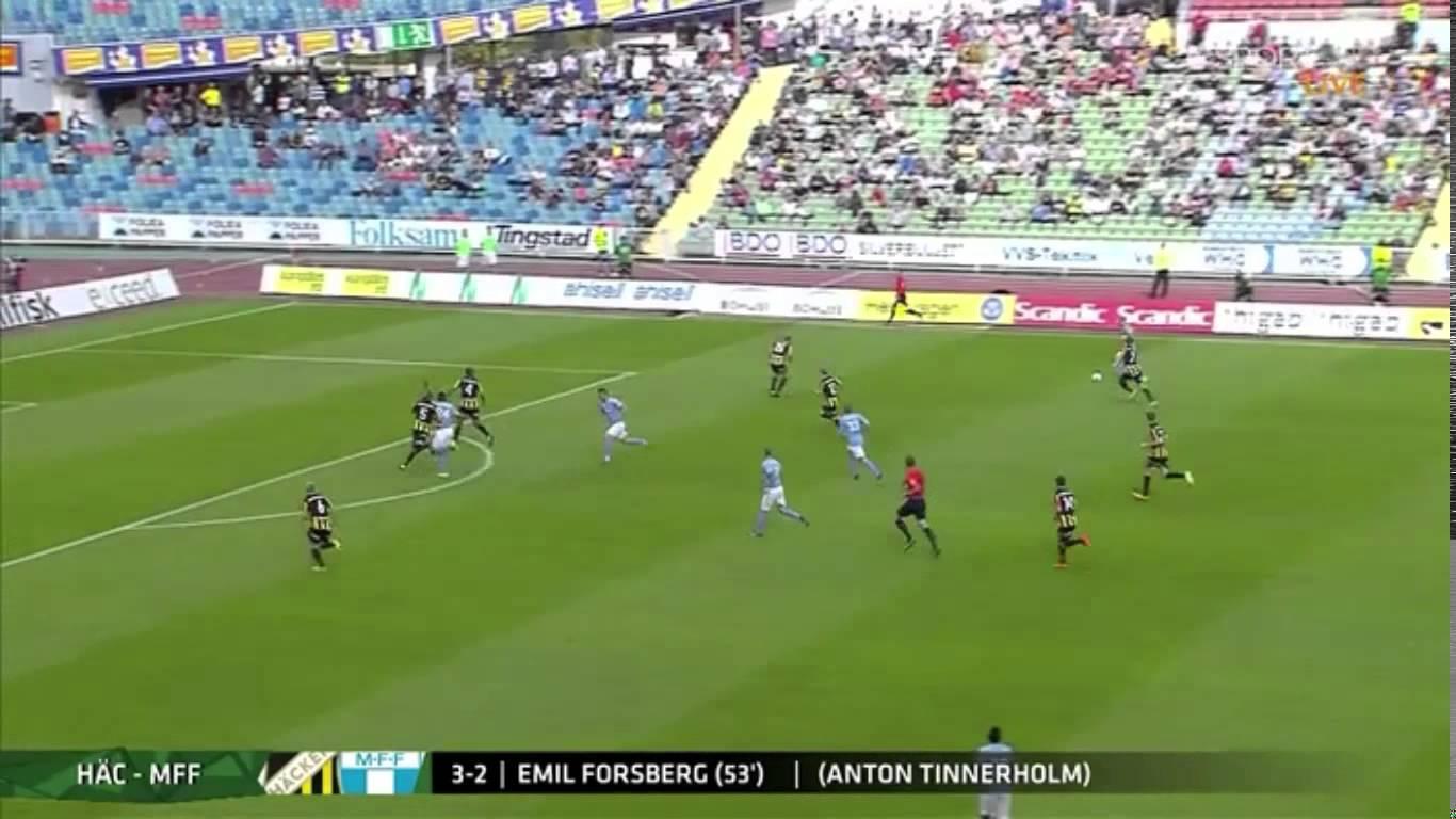 Video: BK Häcken – Malmö FF (3-3), Allsvenskan