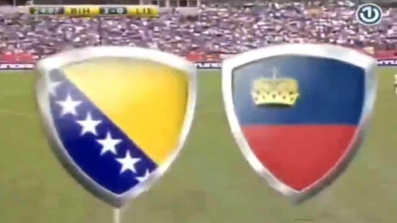 Video: Bosnien – Liechtenstein (3-0), Testspiel
