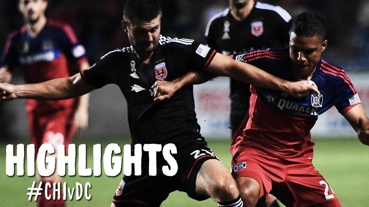 Video: Chicago Fire –  DC United (3-3), MLS