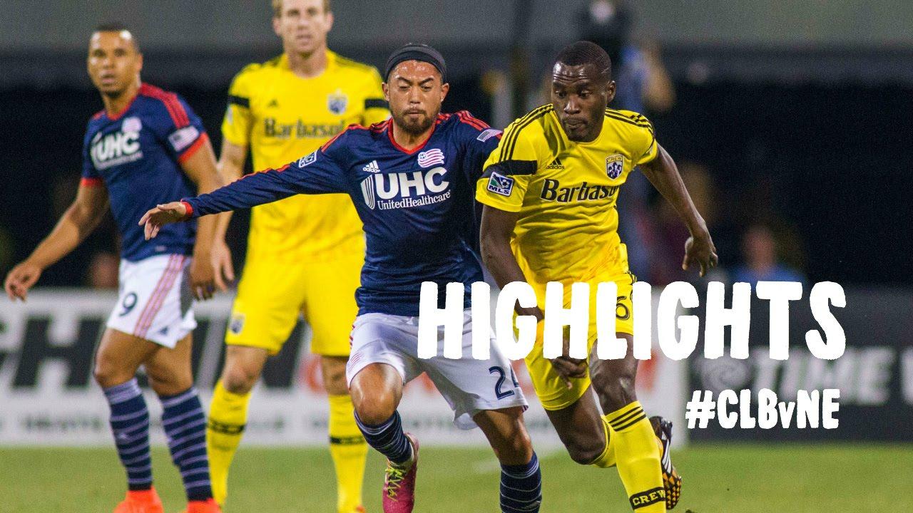 Video: Columbus Crew –  New England Revolution (1-0), MLS