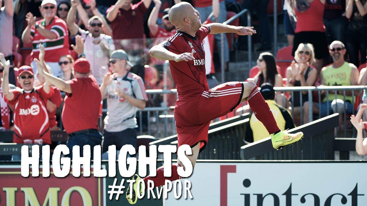 Video: FC Toronto –  Portland Timbers (3-2), MLS