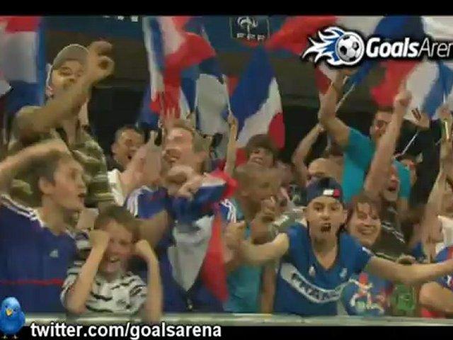 Video: Frankreich – Island (3-2), Testspiel