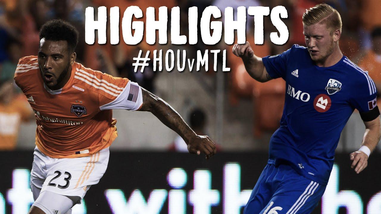 Video: Houston Dynamo – Montreal Impact (3-2), MLS