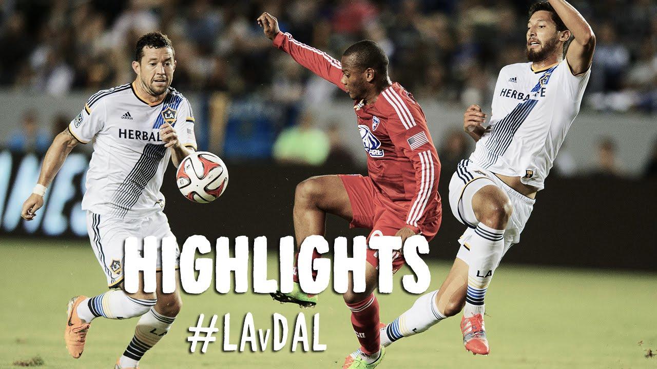 Video: Los Angeles Galaxy –  FC Dallas (2-1), MLS