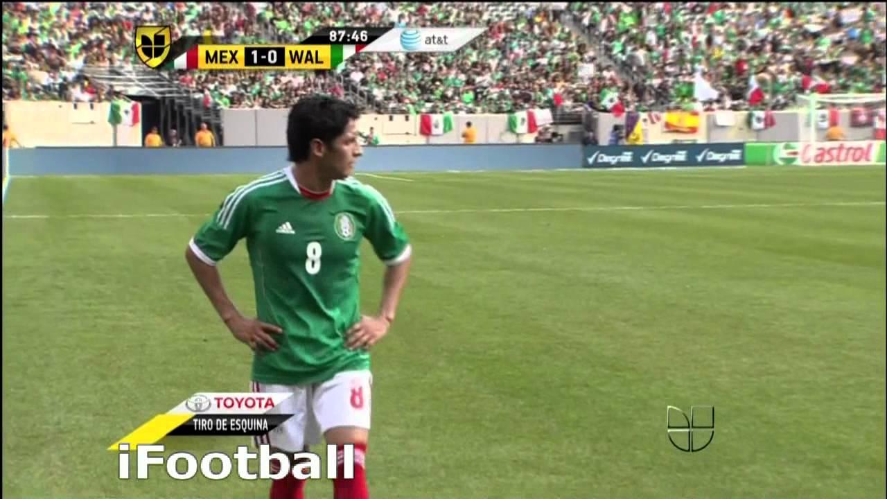 Video: Mexiko – Wales (2-0), Testspiel