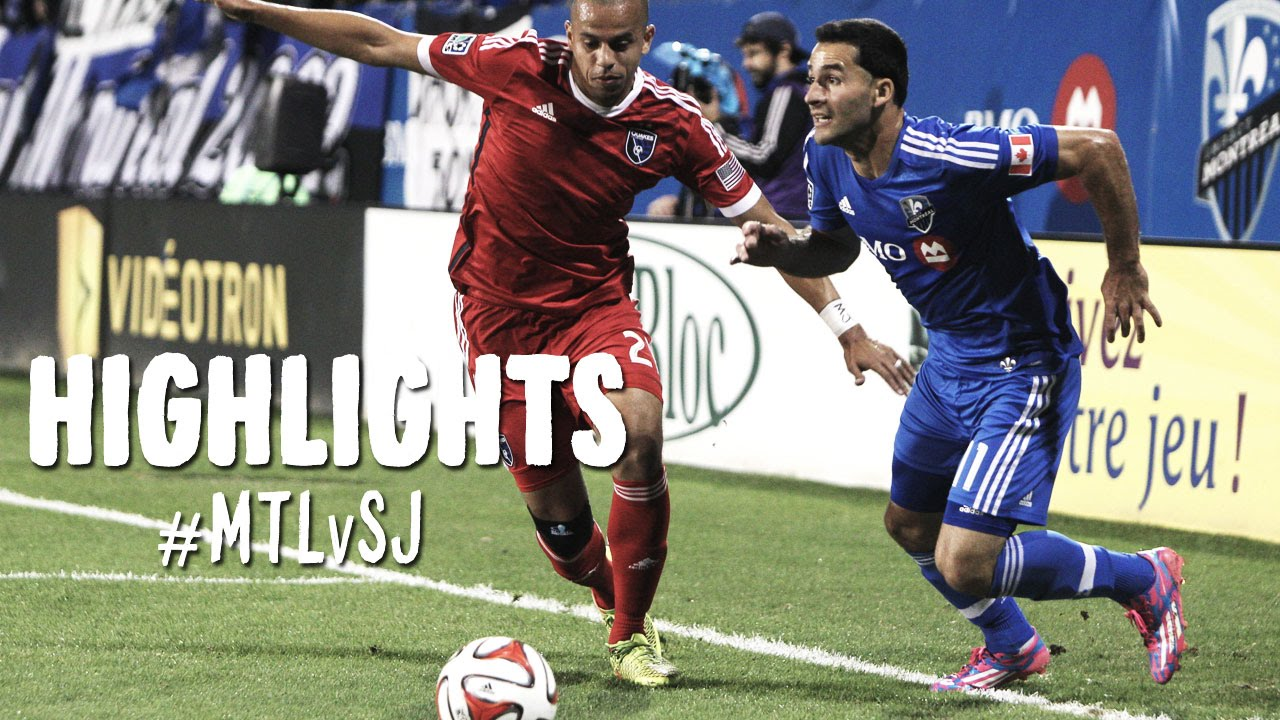 Video: Montreal Impact –  San Jose Earthquakes (2-0), MLS