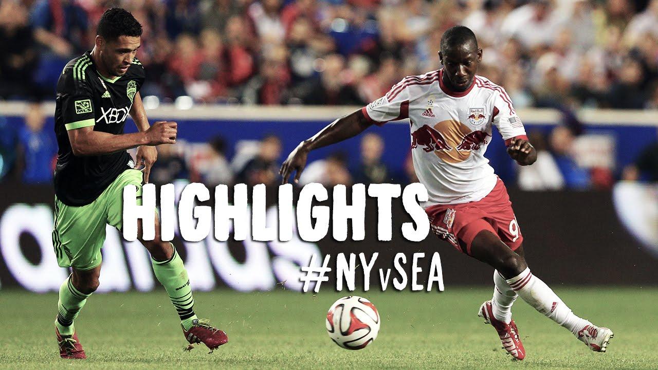 Video: New York Red Bulls –  Seattle Sounders (4-1), MLS