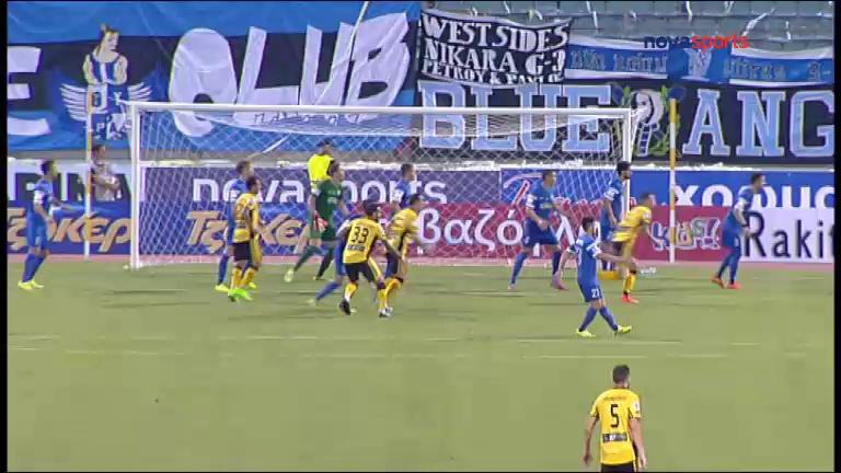 Video: Niki Volou – Ergotelis (1-4), Super League