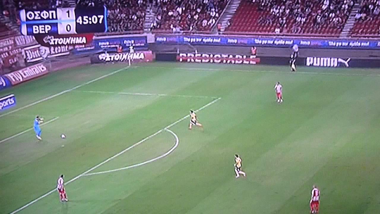 Video: Olympiakos – Veria (-), Super League