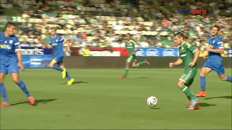 Video: Panathinaikos – Niki Volou (1-0), Super League
