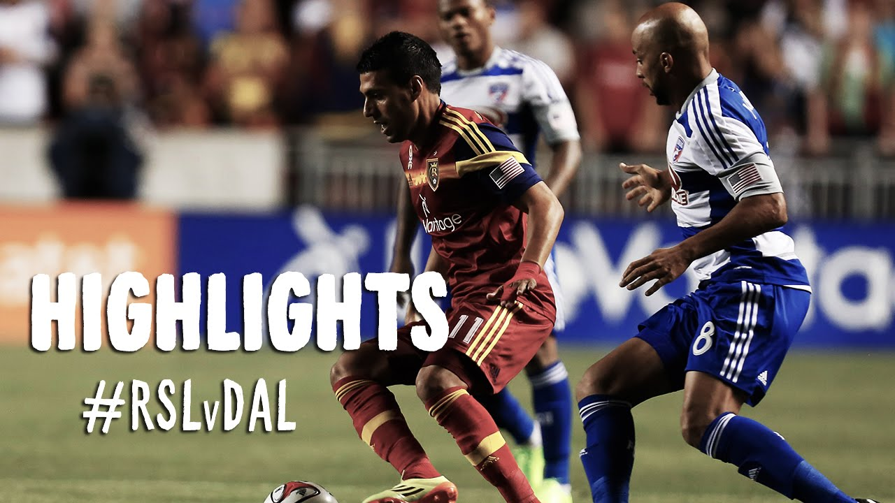 Video: Real Salt Lake – FC Dallas (2-1), MLS