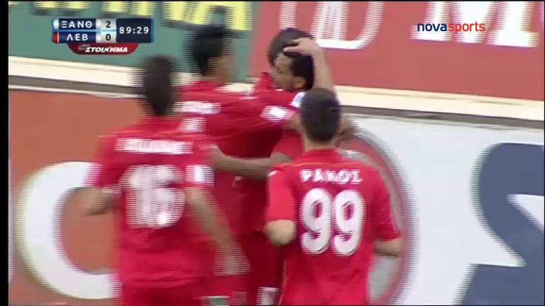 Video: Skoda Xanthi – Levadiakos (2-0), Super League