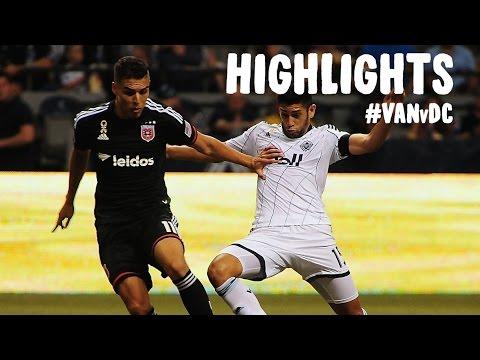 Video: Vancouver Whitecaps – DC United (0-0), MLS