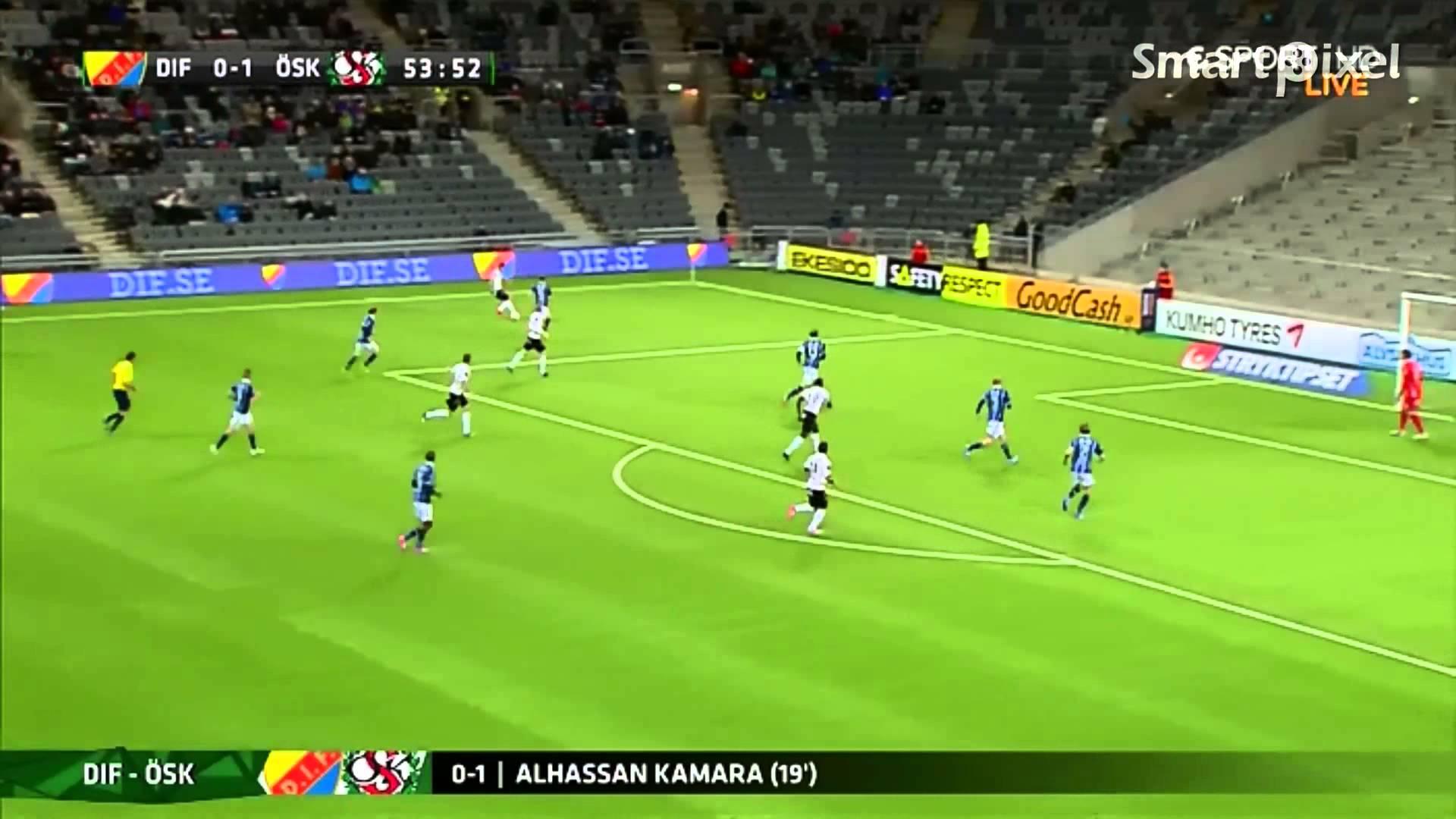 Video: Djurgardens – Örebro (0-3), Allsvenskan