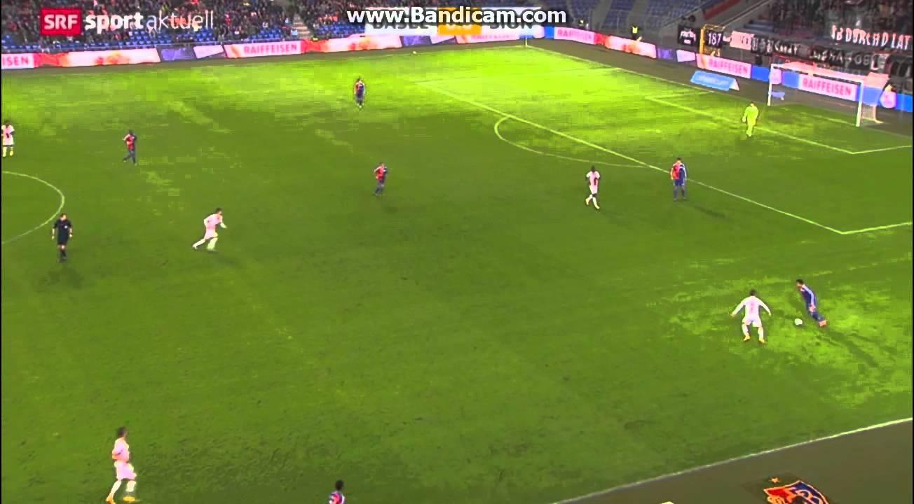 Video: FC Basel – FC Sion (1-1), Super League