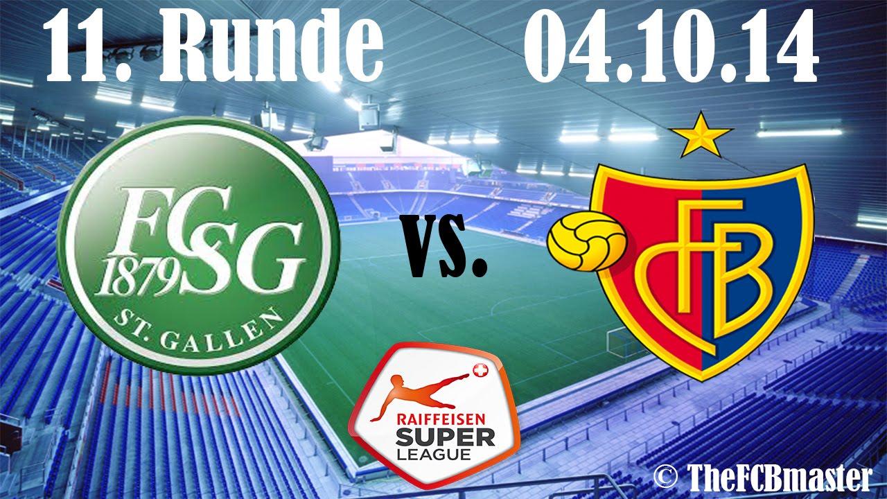 Video: St. Gallen – FC Basel (2-1), Super League