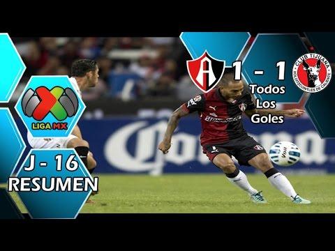 Video: Atlas – Club Tijuana (1-1), Liga MX