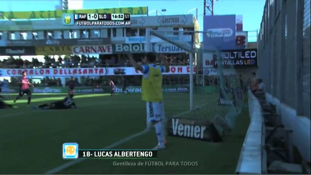Video: Atletico Rafaela – San Lorenzo (2-0), Primera Division