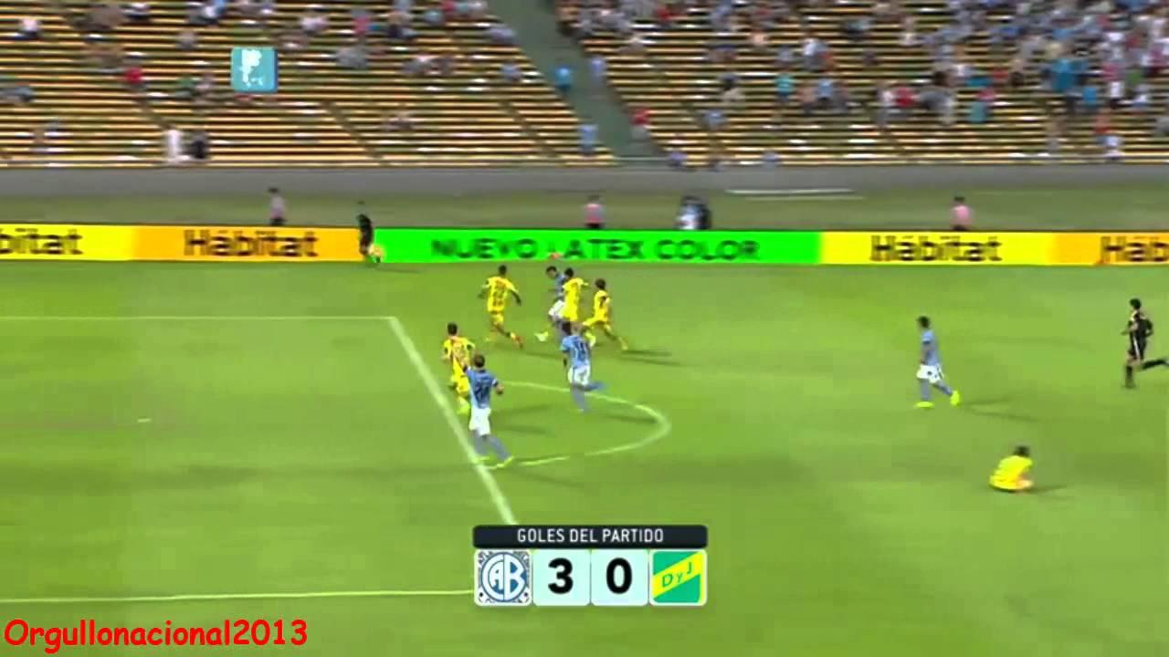 Video: Belgrano – Defensa y Justicia (3-0), Primera Division