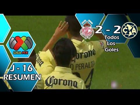 Video: Deportivo Toluca – America (2-2), Liga MX