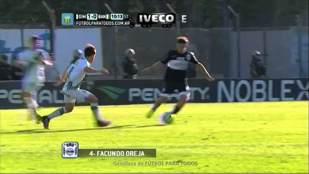 Video: Gimnasia – Banfield (1-1), Primera Division