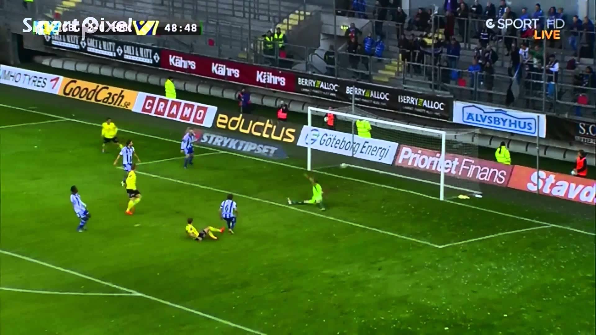 Video: IFK Göteborg – Halmstads (5-1), Allsvenskan