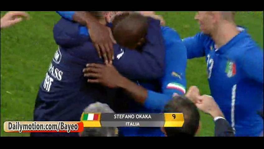 Video: Italien – Albanien (1-0), Testspiel