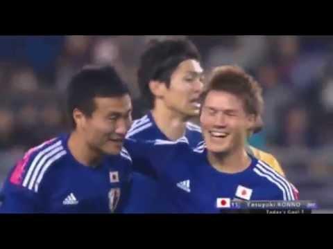 Video: Japan – Australien (2-1), Testspiel