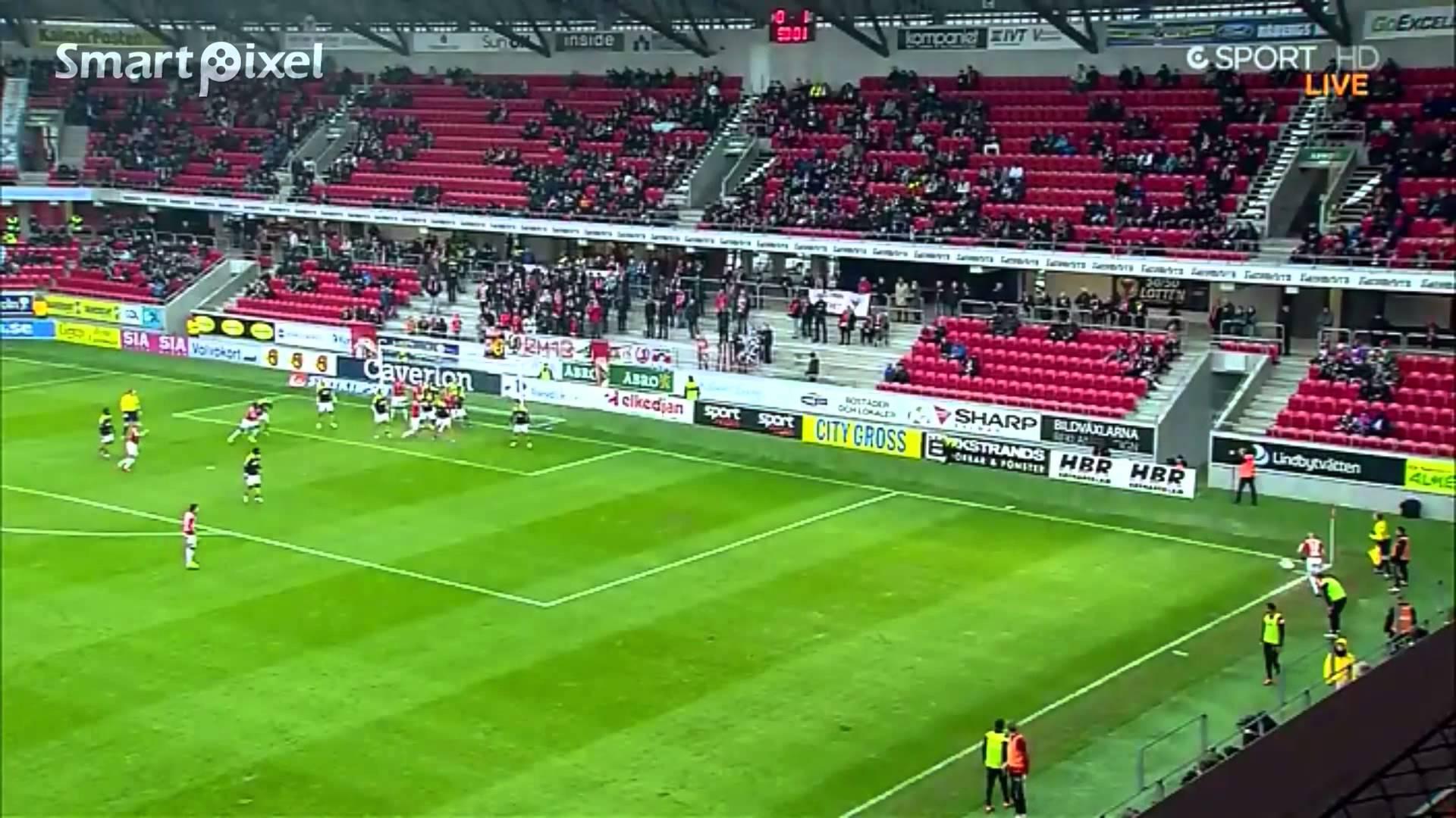 Video: Kalmar – AIK (1-1), Allsvenskan