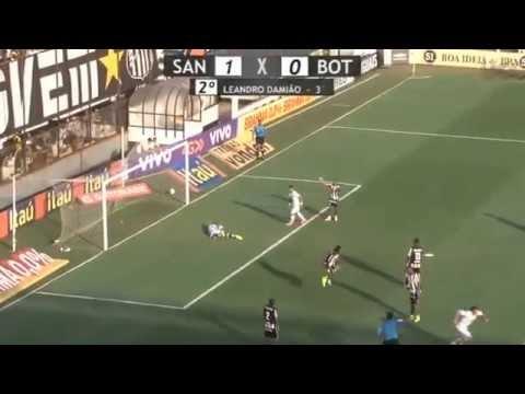 Video: Santos – Botafogo (2-0), Serie A