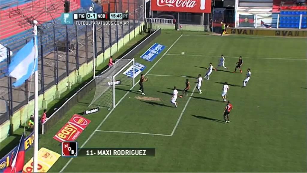 Video: Tigre – Newell's Old Boys (1-2), Primera Division