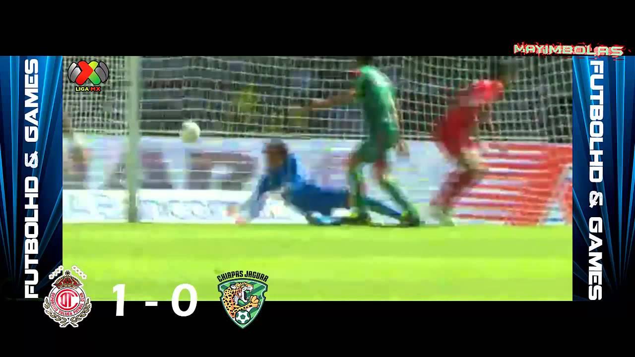 Video: Toluca – Jaguares de Chiapas (1-1), Liga MX